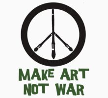 Art not War! by TeeArt