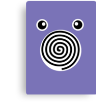 Poliwhirl Face Canvas Print