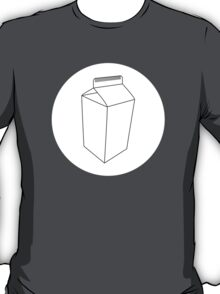 Carton White Circle T-Shirt