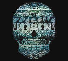 Aztec Skull 2 by cathleenmae