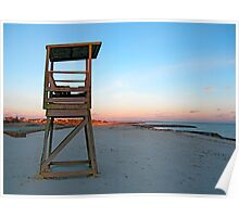 Sunset at Red River Beach (Harwich, Cape Cod) Poster