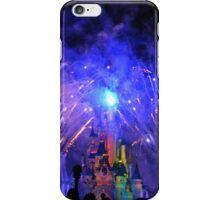 Disneyland Paris Castle Fireworks  iPhone Case/Skin