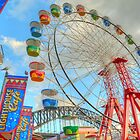 Colourful Luna Park by Michael Matthews