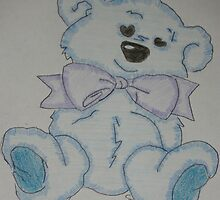 Blue Bear by Clare101