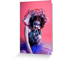 Send In The Clown Greeting Card