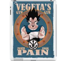 Vegeta's Gym - Power From Pain iPad Case/Skin