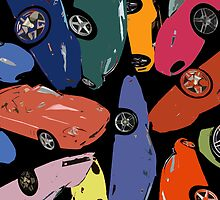 Warhol vs Ferrari by Mathew Woodhams