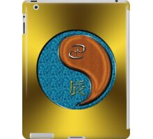 Cancer & Dragon Yang Wood iPad Case/Skin