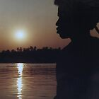 Silhouetted on the Nile by indiafrank