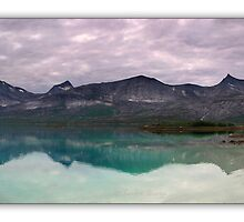 Norway landscape panorama by Sandra Kemppainen