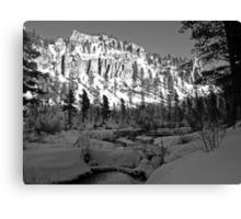 Spearfish Canyon Canvas Print
