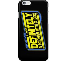 Doctor Who: The TARDIS Strikes Back iPhone Case/Skin