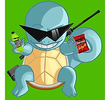 Squirtle MLG Photographic Print