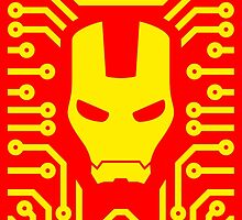 Iron Pattern by DemonigoteTees