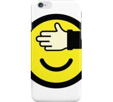 Shy emoticon iPhone Case/Skin