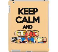 Keep Calm And Gear Second ! iPad Case/Skin