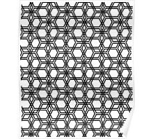 Time for Hexagon Poster