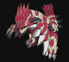 Andy W's Primal Groudon by eevilmurray
