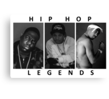 Hip Hop Legends Canvas Print