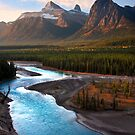Athabasca River, the Icefields Parkway. Alberta, Canada. by photosecosse /barbara jones