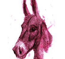 pink donkey by Hugo SOUMET