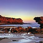 The Split Point Lighthouse by Dean Prowd Panoramic Photography