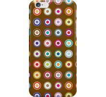Mods dots large and brown iPhone Case/Skin