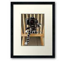 Portrait of a Rebel Framed Print