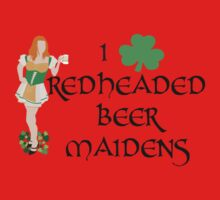 I Love Redheaded Beer Maidens Kids Clothes