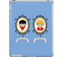Arthur and Merlin Double Frames iPad Case/Skin