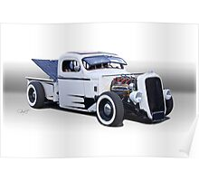 1946 Ford Pickup Truck 'Slightly Modified' Poster