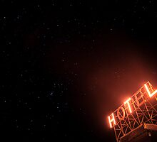 Orion's belt, bow and favorite place to stay by Josh Dayton