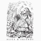 Alice & Friends by David Tribby