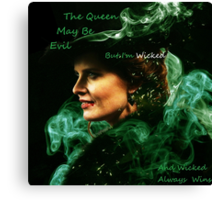 Once Upon A Time Wicked Canvas Print