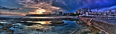 Newcastle baths HDR panoramic by Andrew Murrell