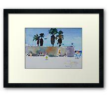 Sardinia beach Framed Print