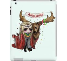 Party King iPad Case/Skin