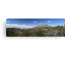 Chiricahua National Monument Panorama Canvas Print
