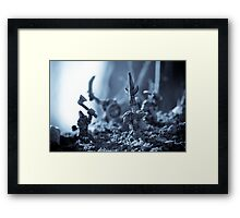 Facing The Enemy Framed Print