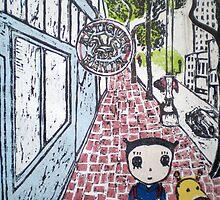 Strolling on Market Street by Ayu Tomikawa