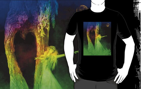 The Beckoning large image t shirt by adivawoman