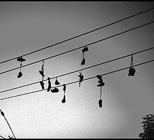 shoes in the sky by ida  boel nielsen