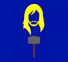 Minimalist Thor by Ryan Heller