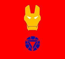 Minimalist Iron Man by Ryan Heller