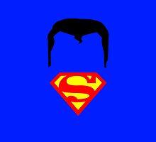 Minimalist Superman by Ryan Heller