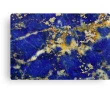 Lapis lazuli Canvas Print