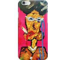 Too much smoke luv? iPhone Case/Skin
