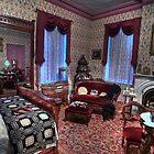 Ladies' Elegant Bed Room 1800's Home  by Cathryn  Lahm