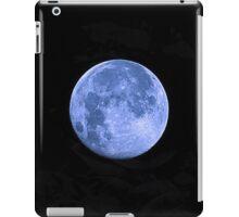 Blue Supermoon iPad Case/Skin