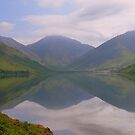 The Lake District: Wast Water Reflections by Rob Parsons